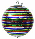 Зеркальные шары Eurolite Multicolor mirror ball 30cm in a colorbox