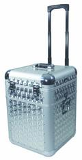 Кейсы для CD проигрывателей Steinigke CD/LP case, polished, with trolley