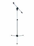 Стойка Steinigke Microphone tripod with boom,clip, chrome